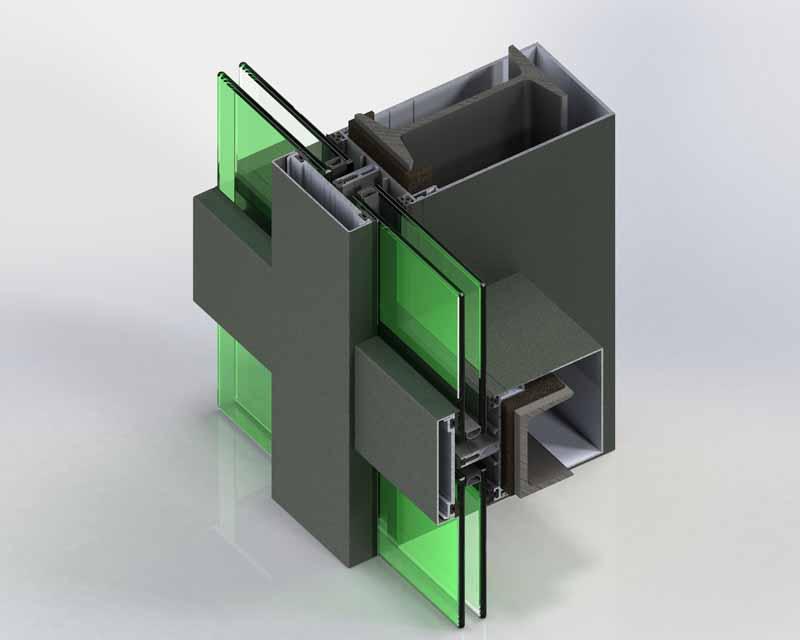 Çelik Takviyeli Cephe Sistemleri